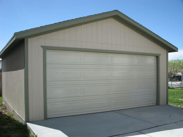 electrical wiring storage shed