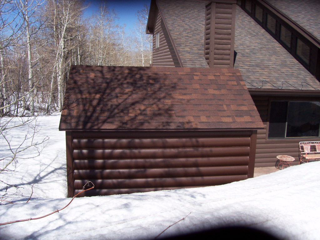 storage sheds protected winter