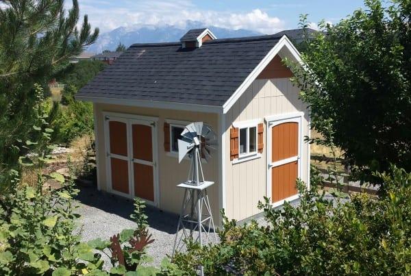 custom work sheds