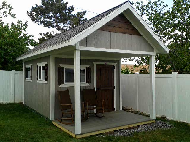 custom backyard shed