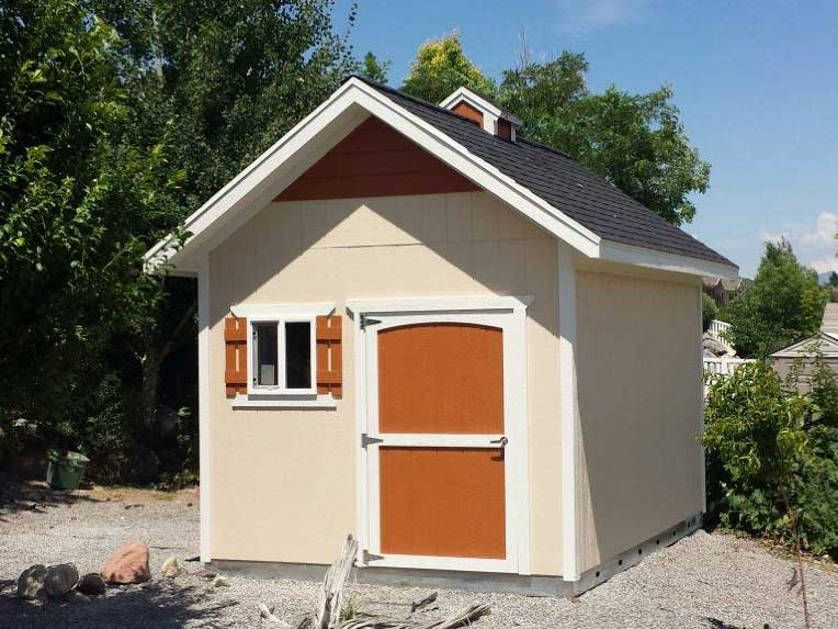 custom work sheds
