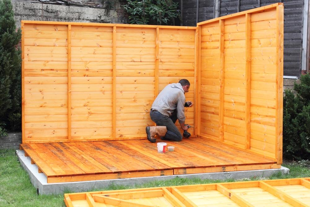 shed planning proper size