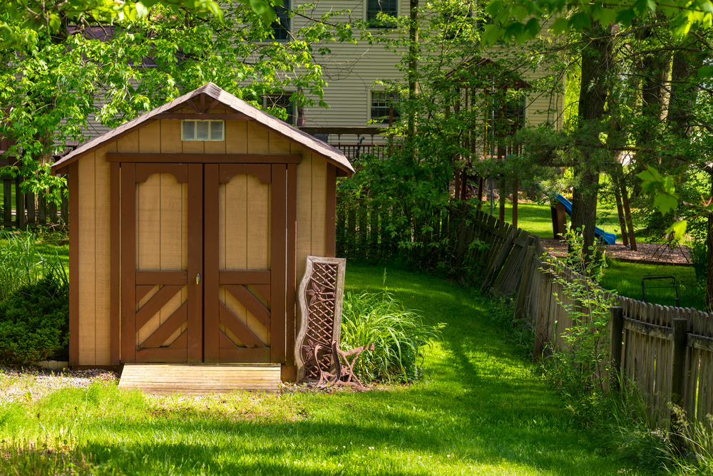 shed adds value