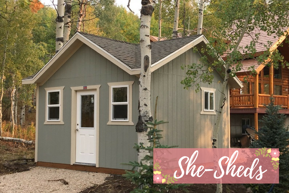 Man Cave She Shed : With addition two story barn cabin man cave she shed