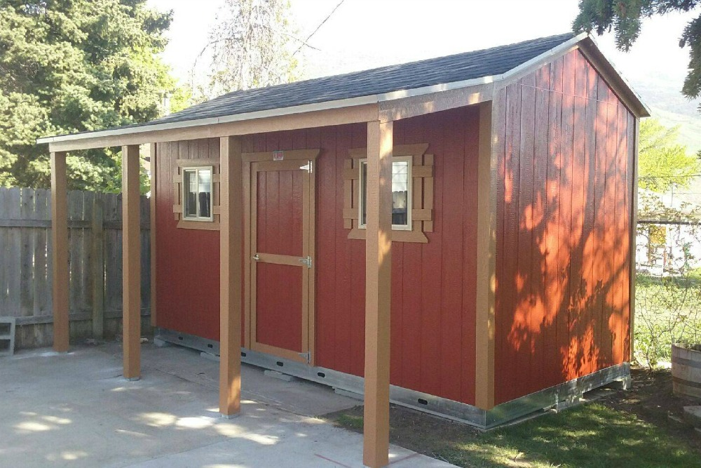 Backyard Storage Sheds Are One Of The Most Underrated Additions To Your Property Kids May Want A Play Set Or Trampoline And Spouse Think