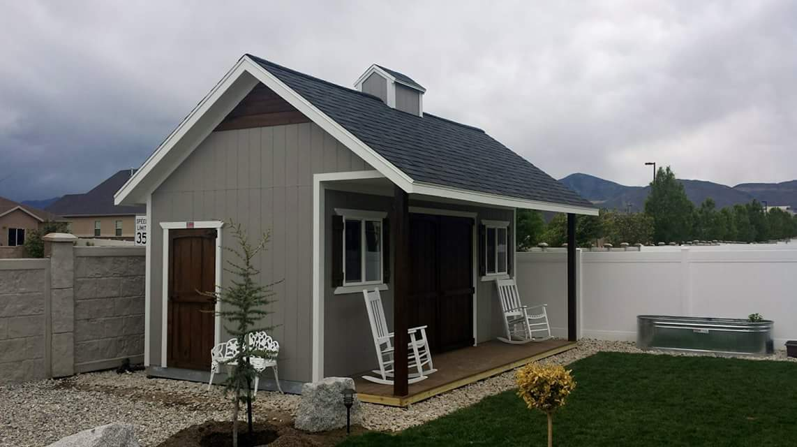 Garden Sheds Wooden metal or wooden garden shed? how to choose the best option. | a
