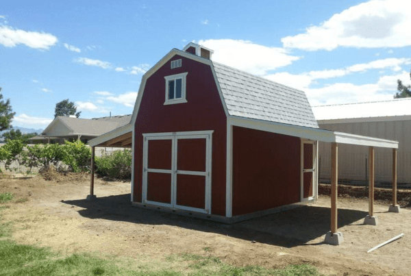 Shed builder utah colorado a shed usa for Gambrel shed