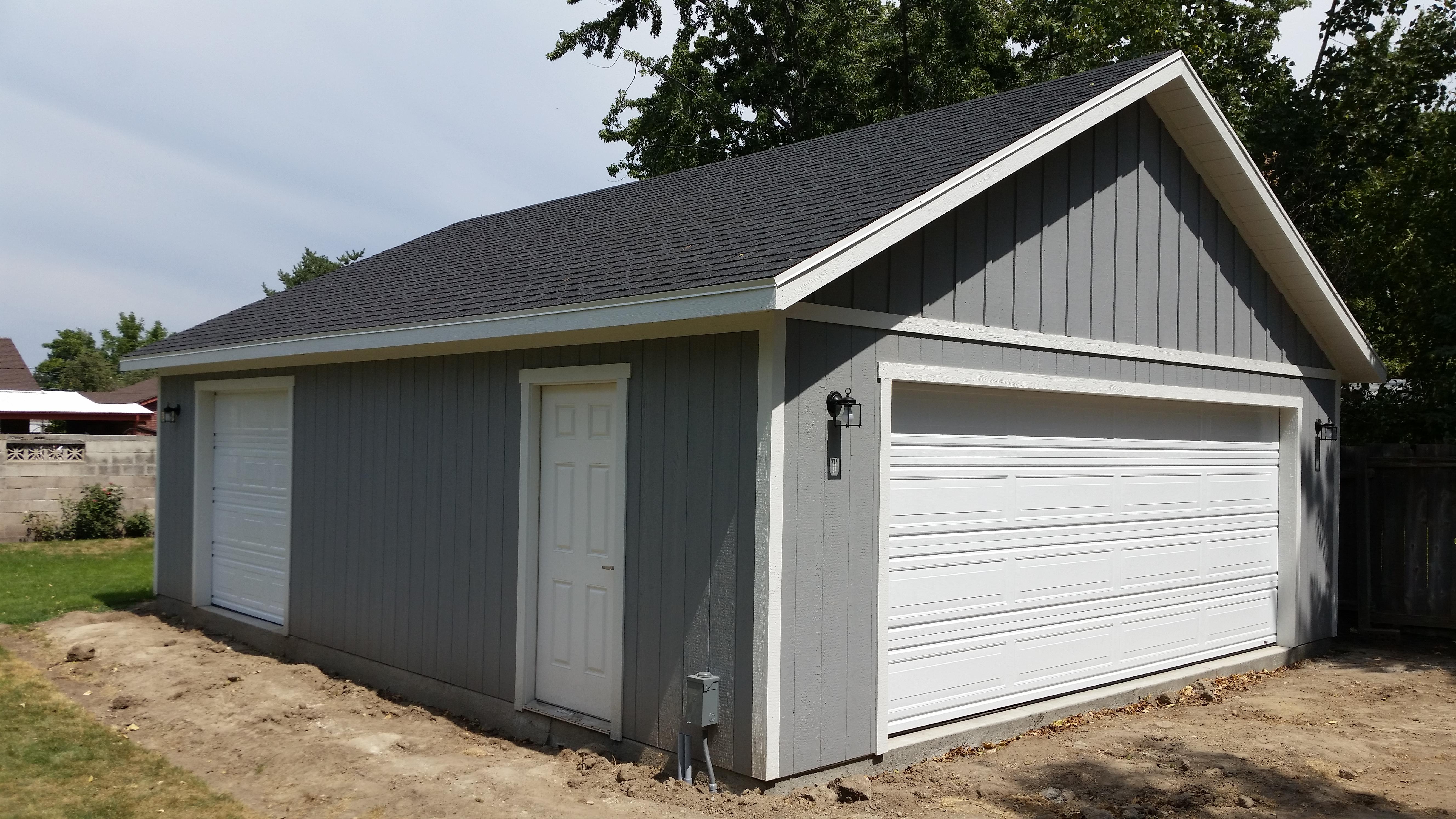 planning a new garage