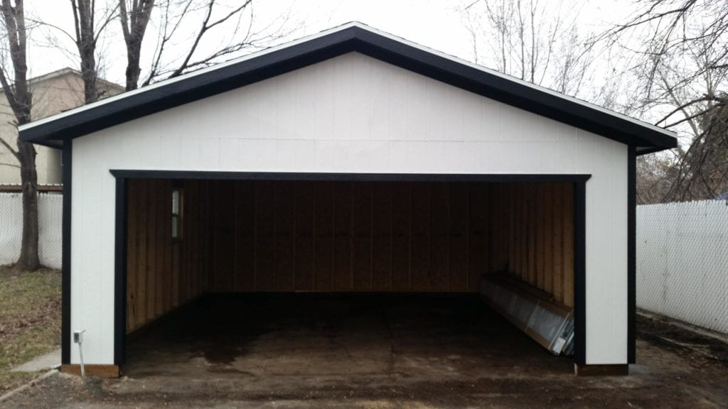When a detached garage makes sense a shed usa for Detached garage utah