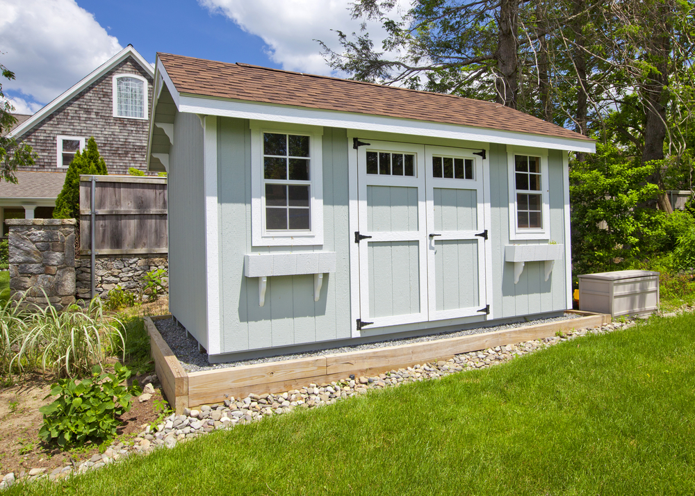 Unique Benefits of a J-Series Custom Shed