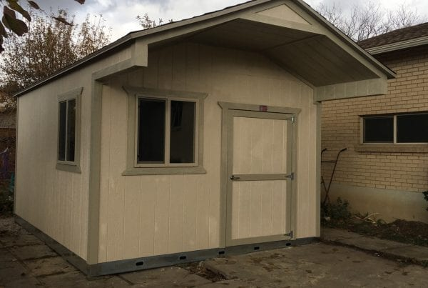 maintenance for sheds