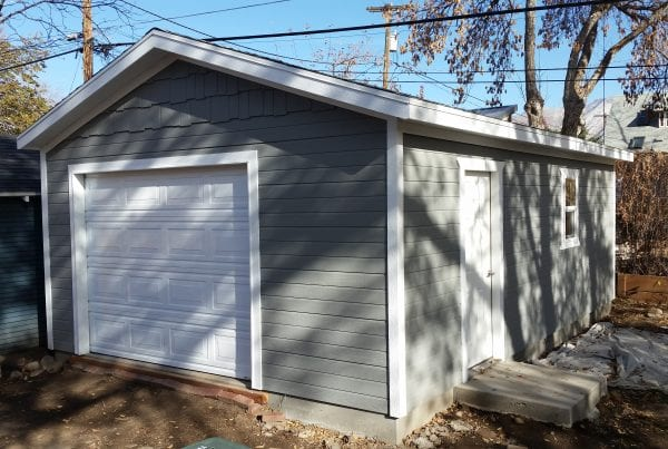 maintenance for sheds and garages